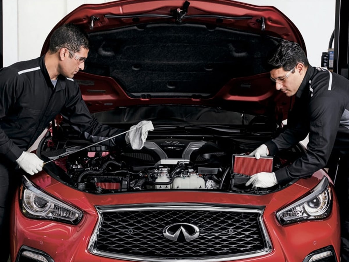 INFINITI Fuel System Tuneup Service Special Coupon