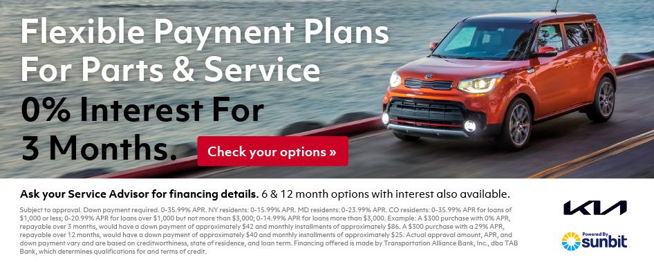 Auto Service Financing