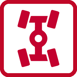 Kia Four-Wheel Alignment Icon
