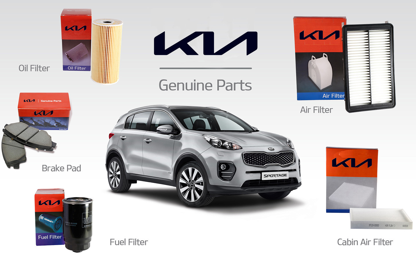 Kia Genuine OEM Parts