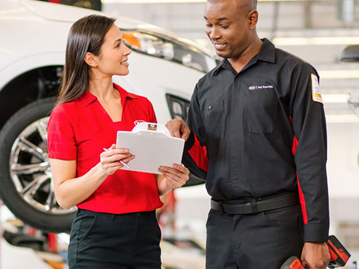 Certified Kia Technicians