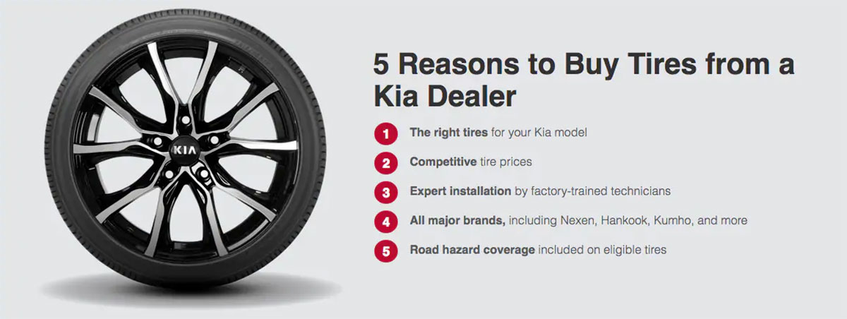 Kia buy tires