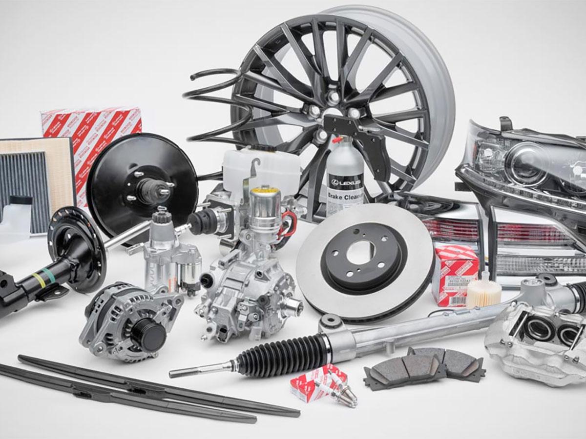 Certified Lexus Parts & Fluids at Lexus of Calgary