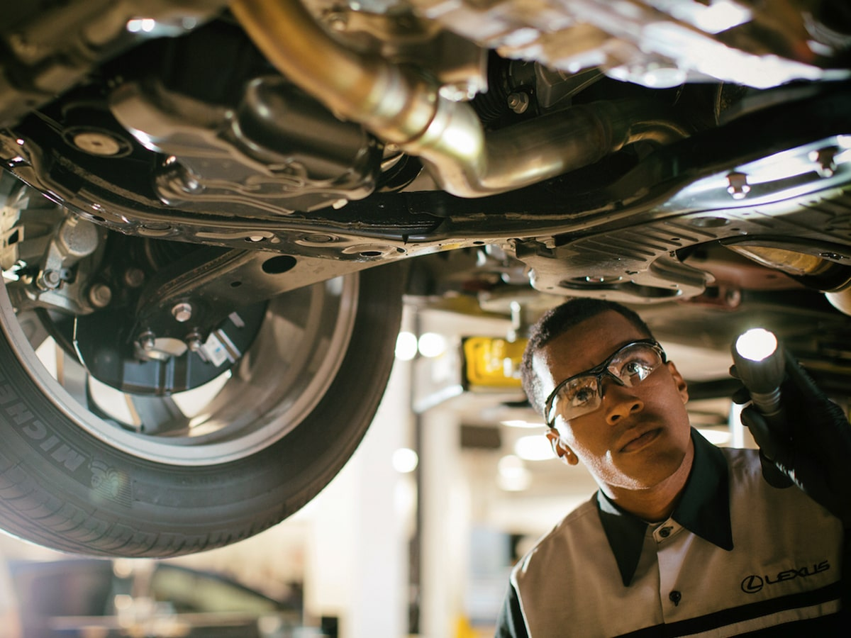 Lexus Check Engine Light Diagnosis