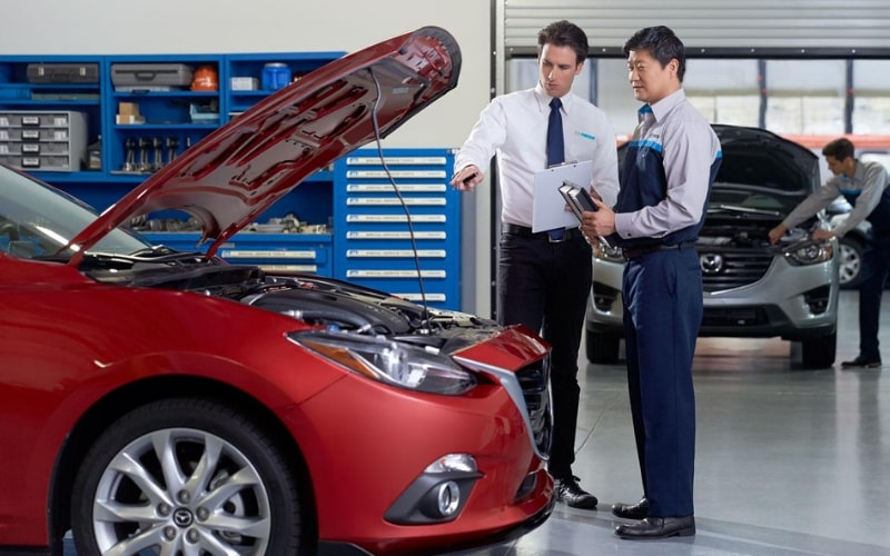 Mazda Advanced Driver Assistance Safety Systems Calibration Service
