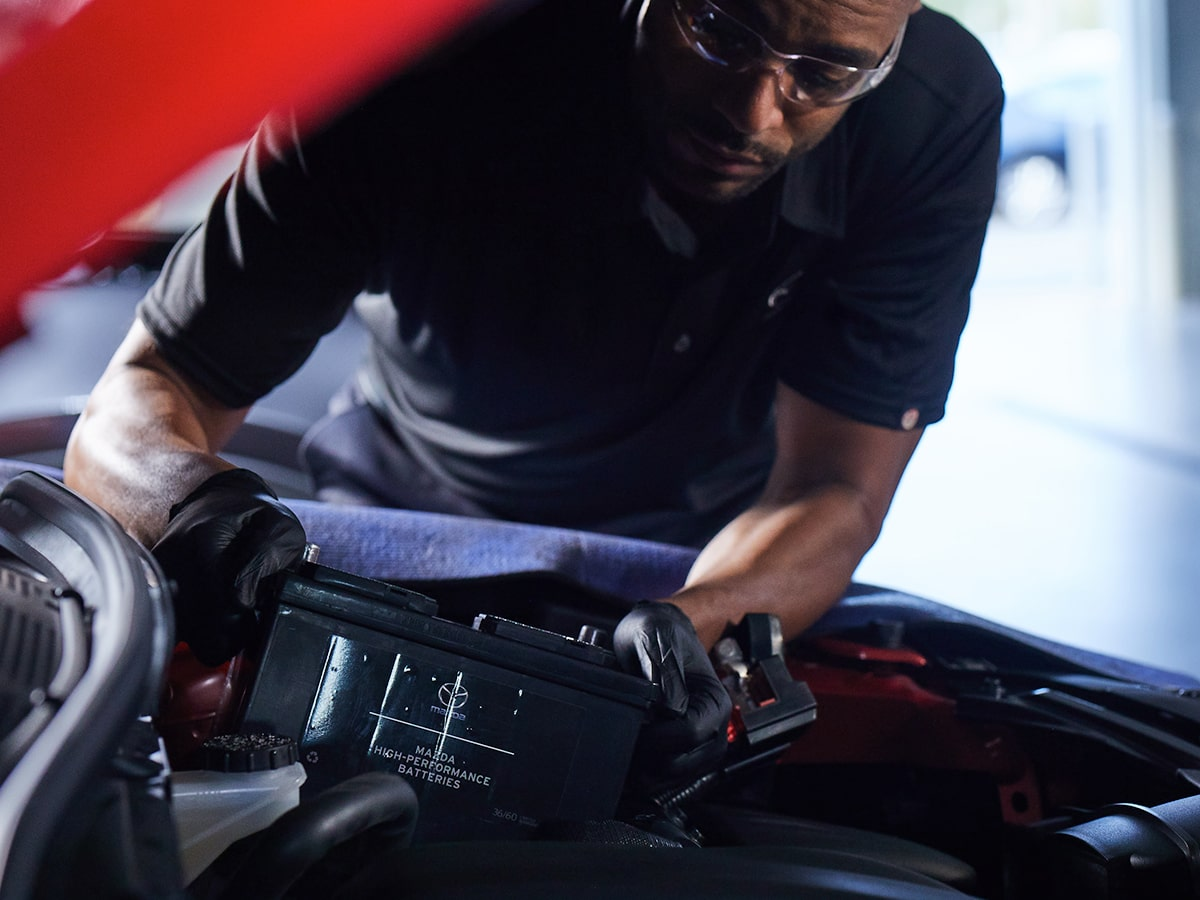 Mazda Battery Test Service Service Special Coupon