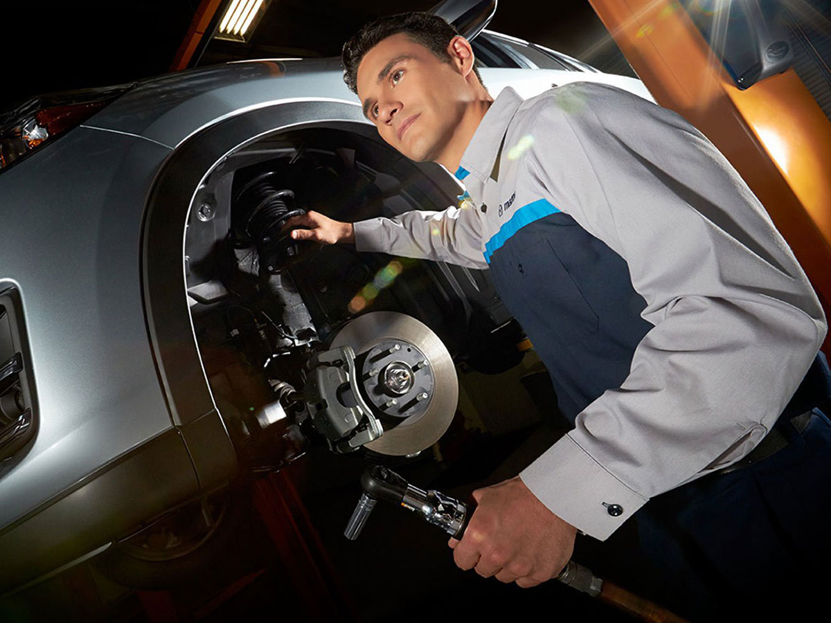 Mazda Spring Brake Service Special Coupon