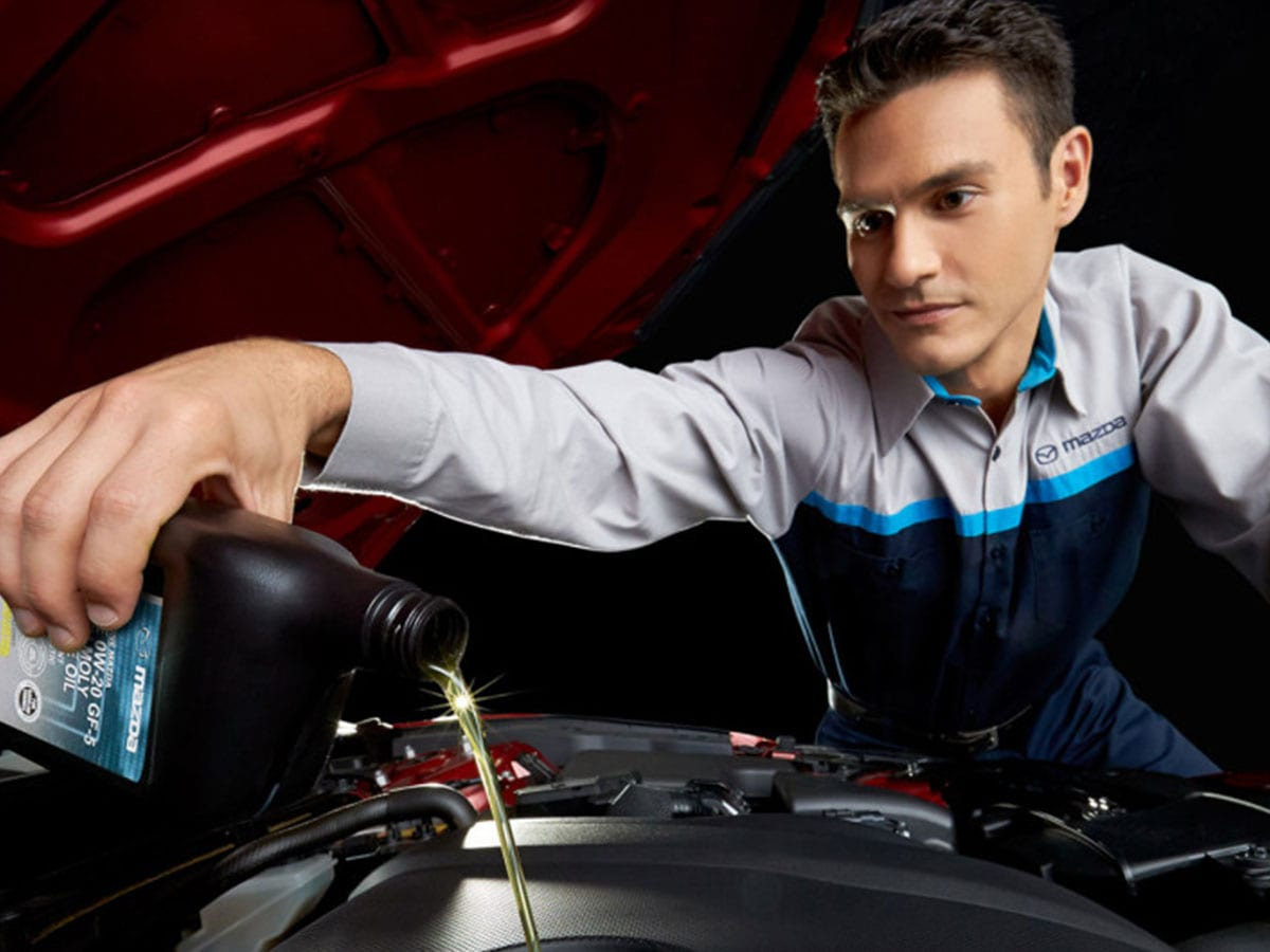 Mazda Oil Change Services