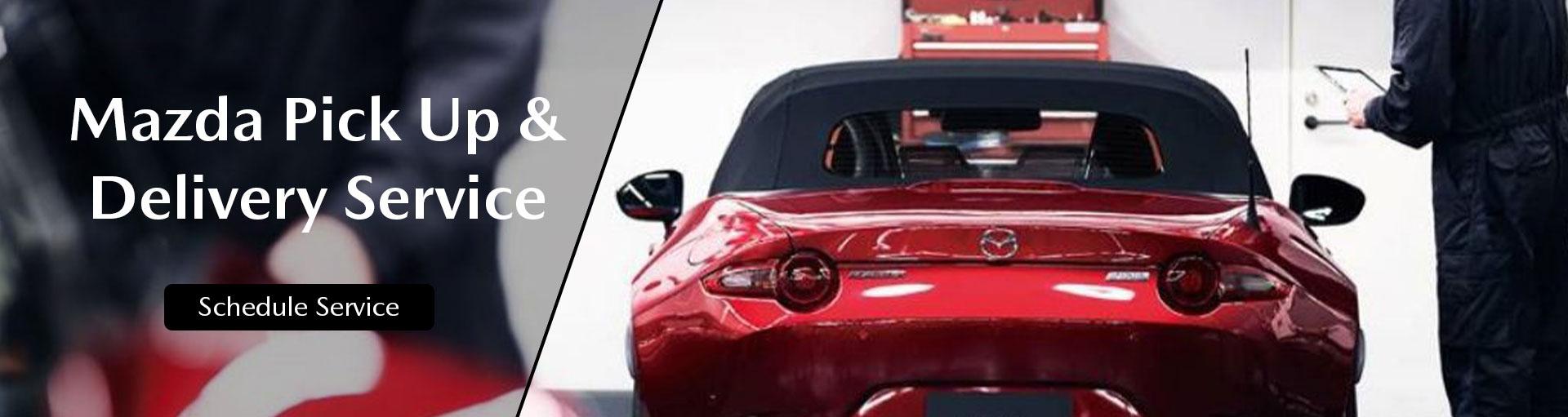 Russ Darrow Mazda Pick Up & Delivery Service