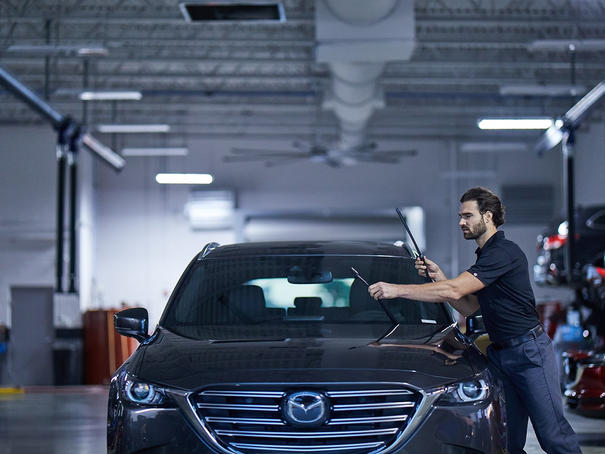 Mazda Windshield Wiper Install Service Special Coupon