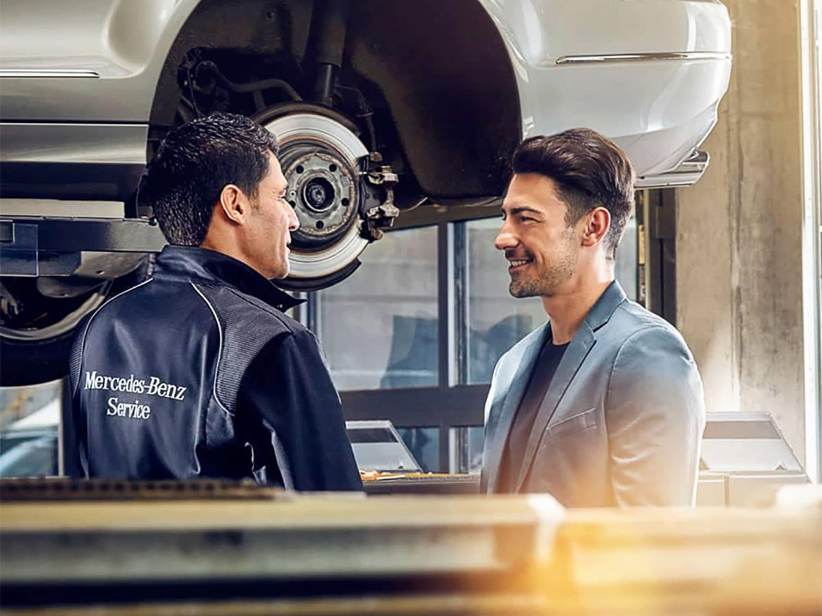 Mercedes-Benz Rear Brake Pad Replacement
