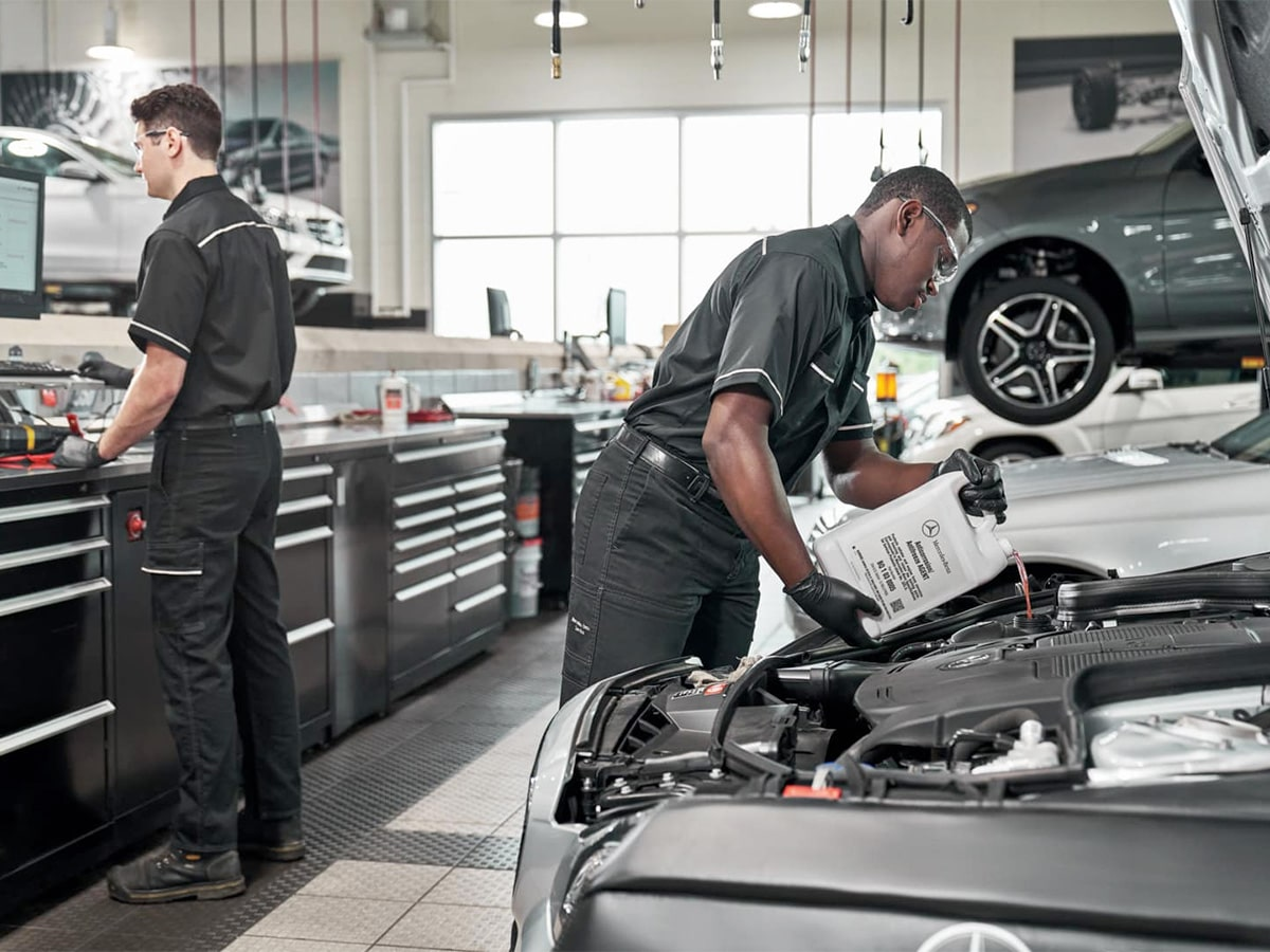 Mercedes-Benz Service B Special Service Special Coupon