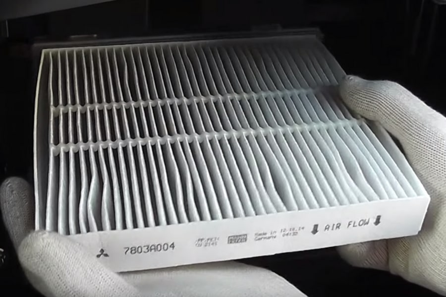 Mitsubishi Cabin A/C Filter Replacement Service Special Coupon
