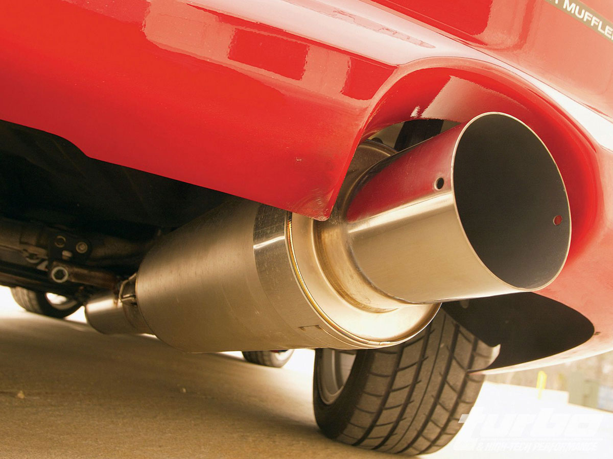 Mitsubishi Exhaust System Service