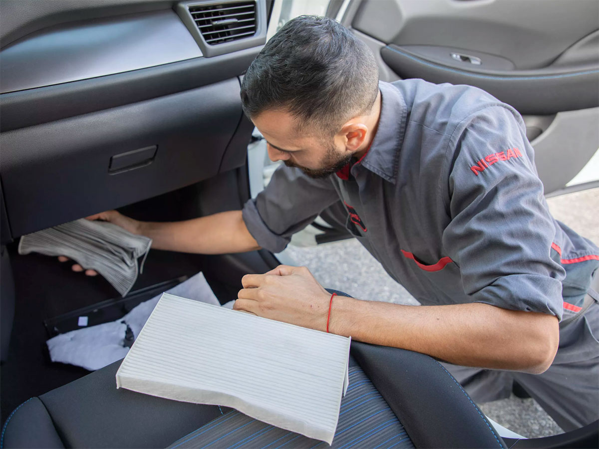 Nissan Cabin Air Filter Service