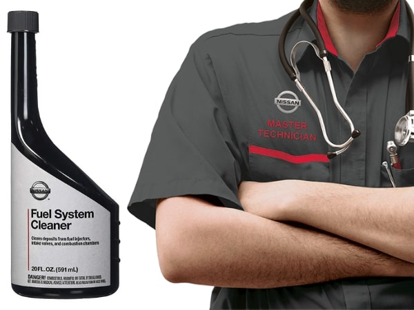 Nissan Fuel System Cleaning