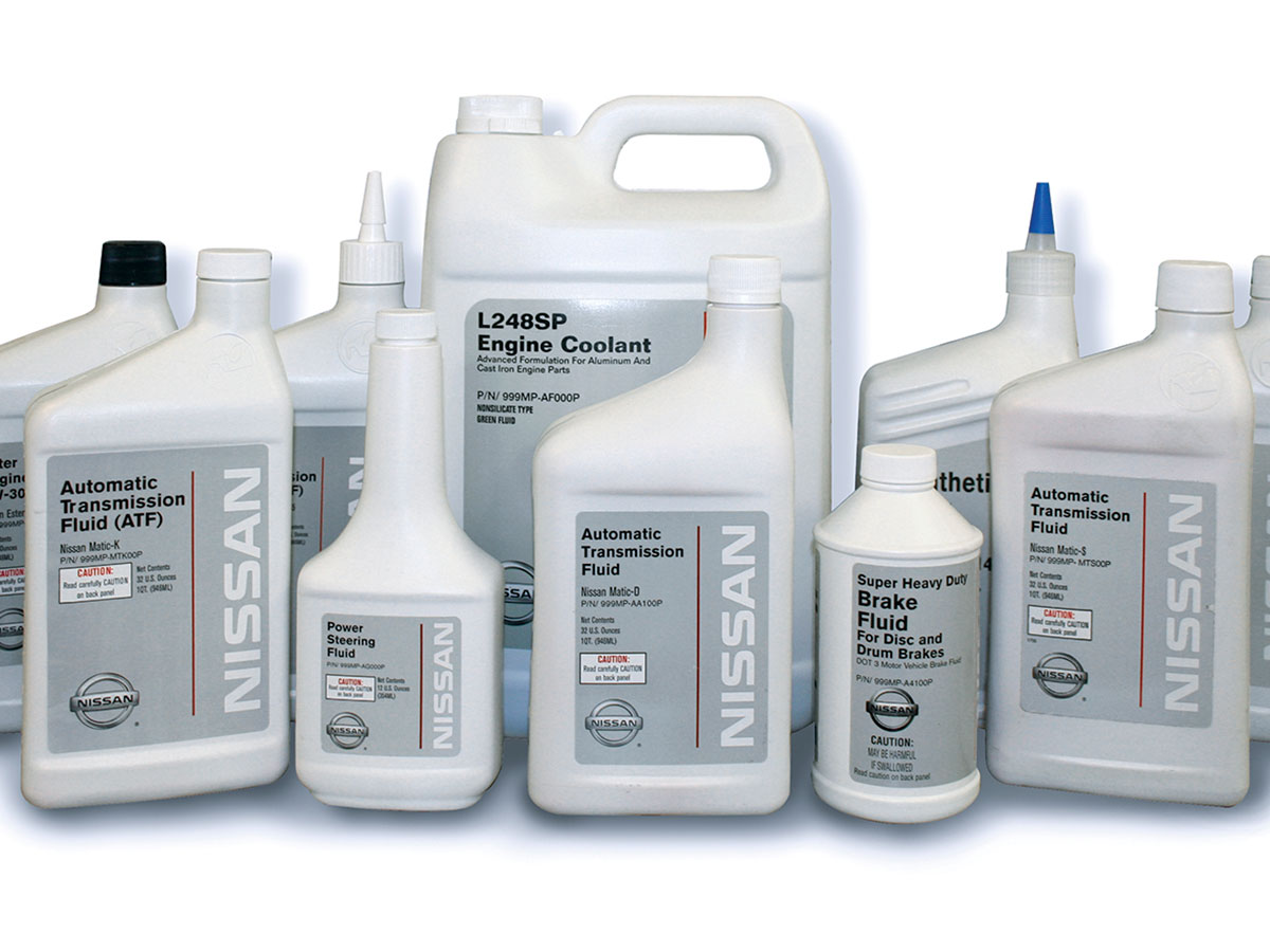 Nissan Certified Fluids