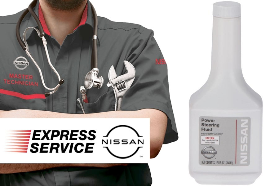Nissan Power Steering Fluid Exchange
