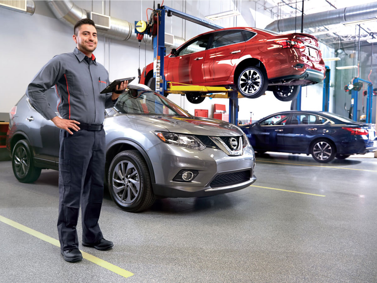 Nissan Multi-Point Inspection Service