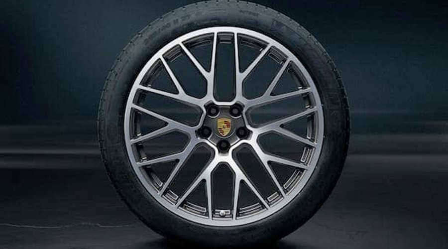 Genuine Porsche Tires