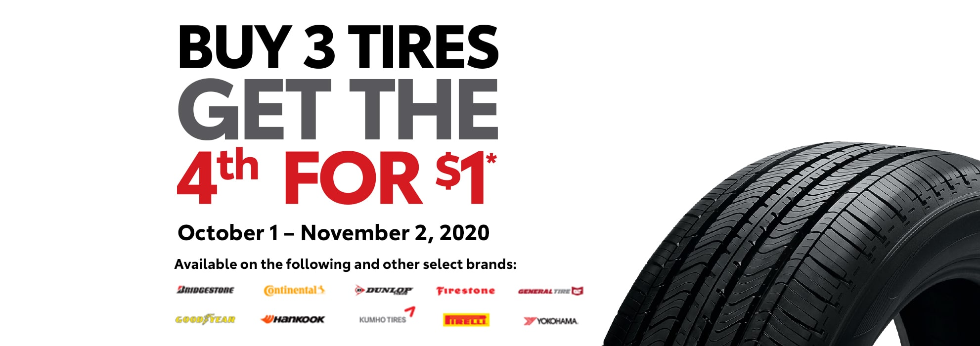 Findlay Toyota Tire Event Special