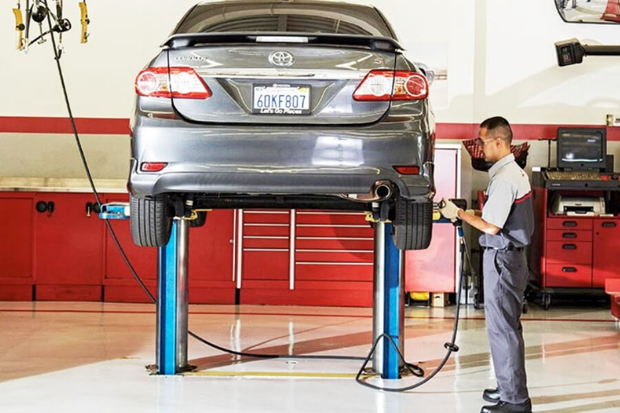 Toyota Alignment Services