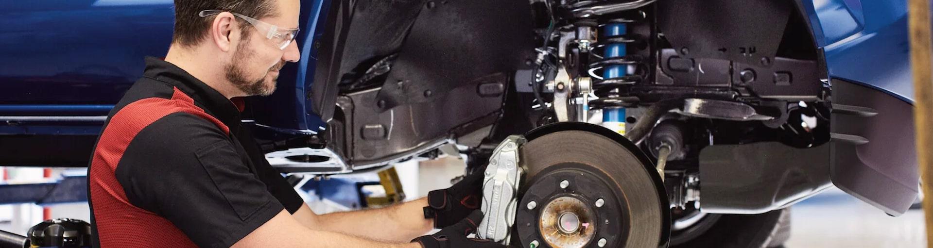 Ganley Toyota Brake System Services