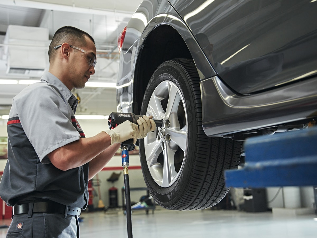 Toyota Tire Patch & Repair Service