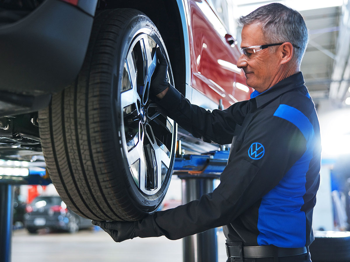 Volkswagen Four-Wheel Alignment