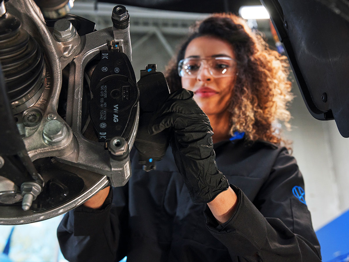 Volkswagen Brake Rotor, Caliper and fluid exchange