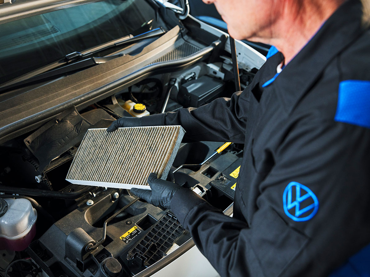 VW Cabin Air Filter Replacement Service