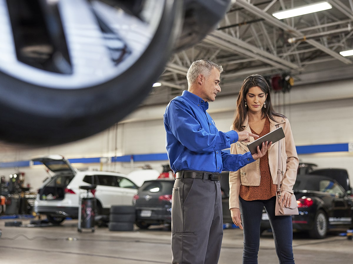 Cooley Volkswagen Certified Service