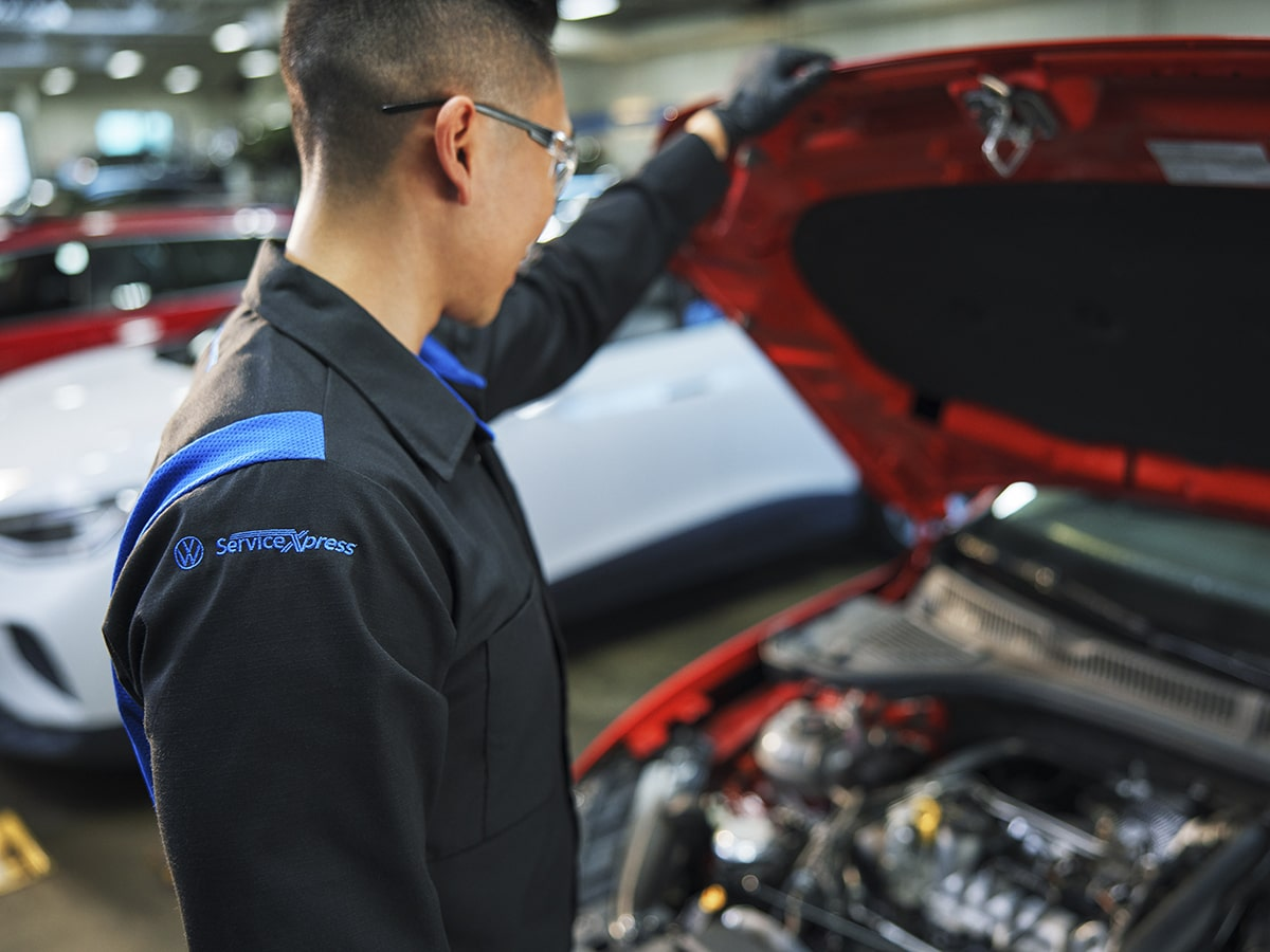 Volkswagen Multi-Point Vehicle Inspection Service