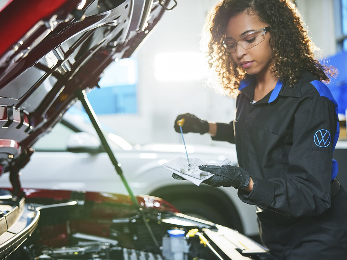 VW Full-Synthetic Oil Change Service