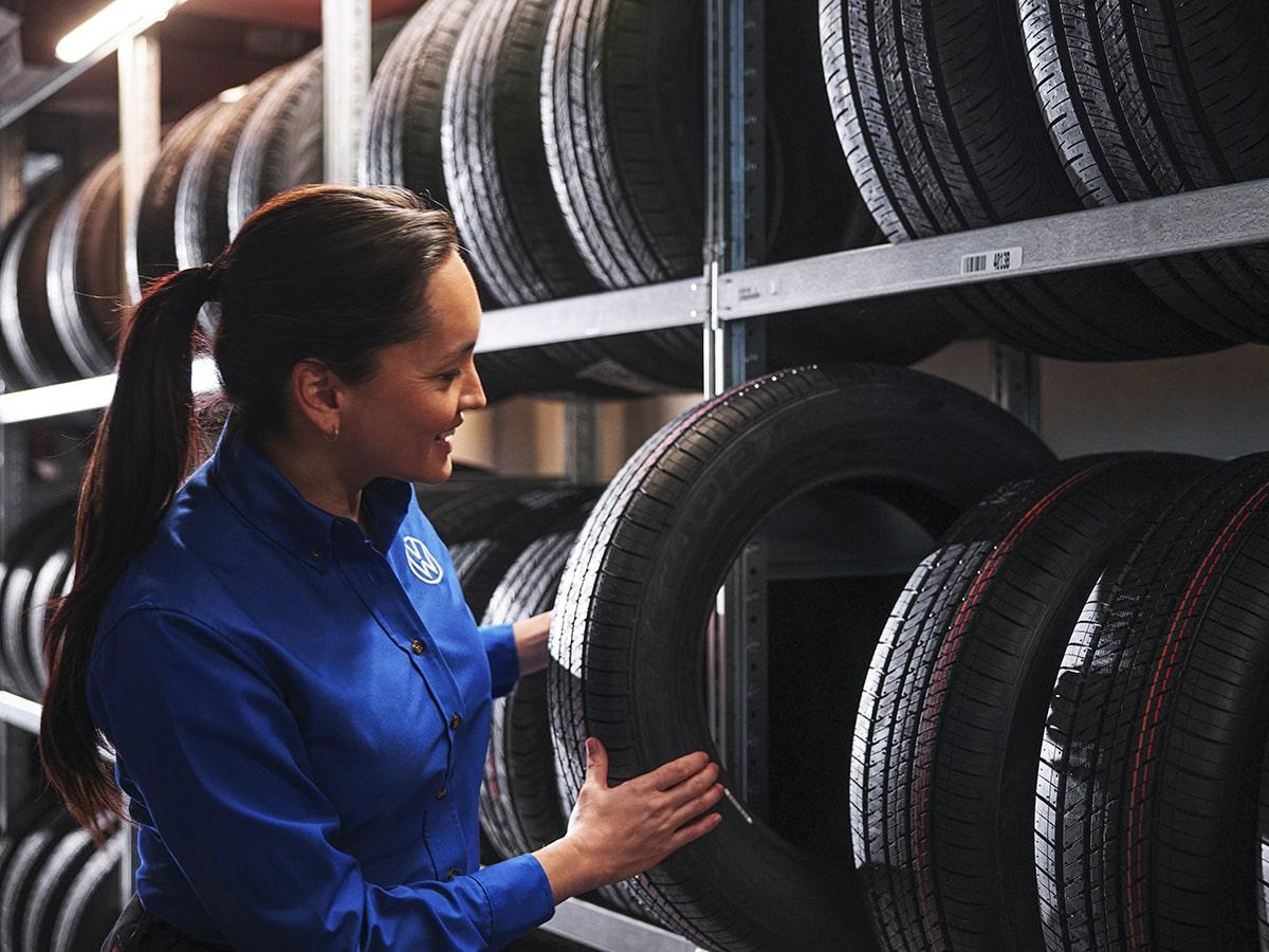 Volkswagen Tire Sales & Service Near Jeffersonville, IN