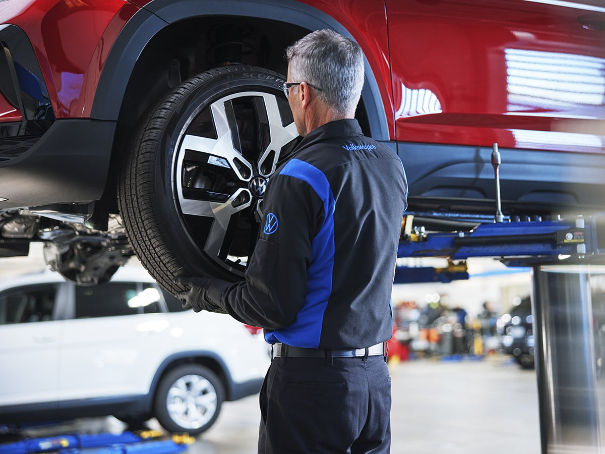 VW Tire Rotation & Balance Service