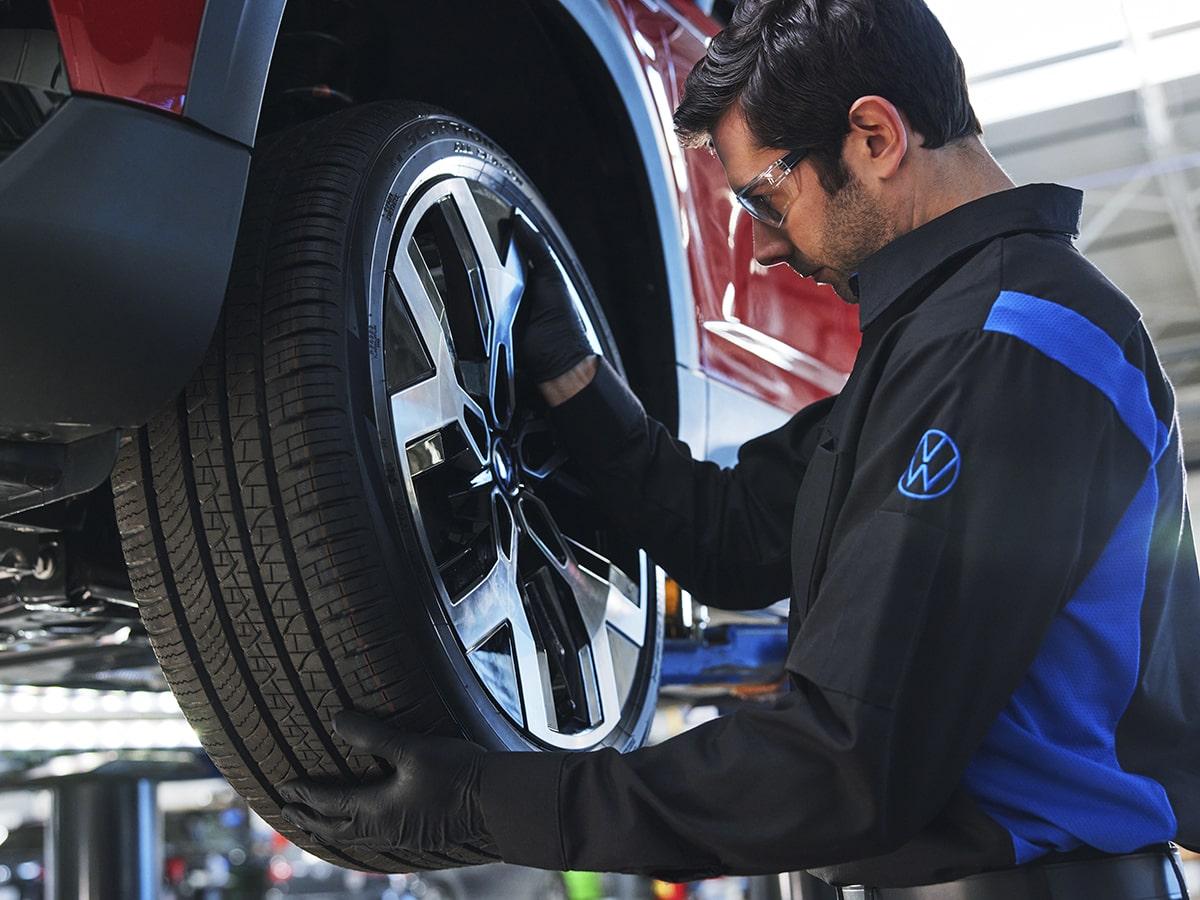 Certified Volkswagen Tire Service